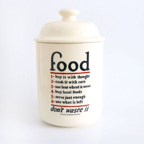 FOOD - CREAM STORAGE JAR WITH LID