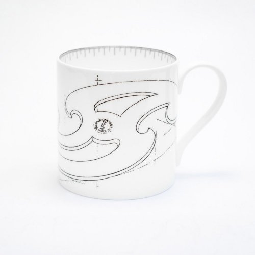 FRENCH CURVE MUG