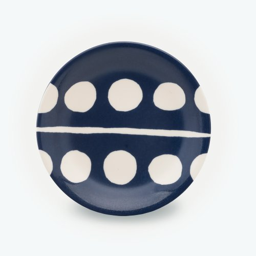 MIDNIGHT BLUE CIRCLE PLATE