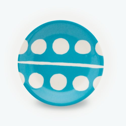 TURQUOISE CIRCLE PLATE