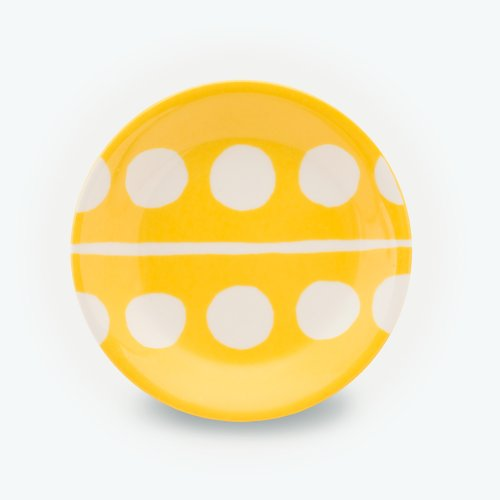 YELLOW CIRCLE - SMALL PLATE