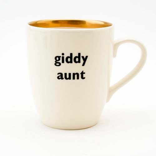 GIDDY AUNT GOLD MUG