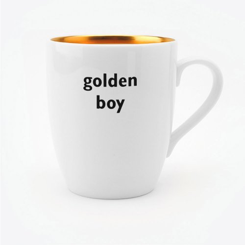 GOLDEN BOY MUG