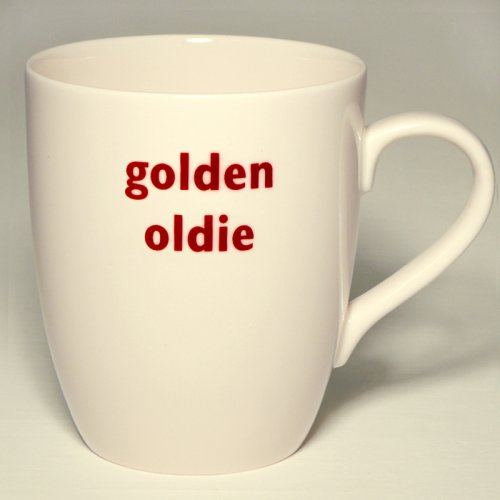 SALE! GOLDEN OLDIE MUG