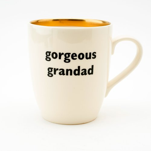GORGEOUS GRANDAD GOLD MUG