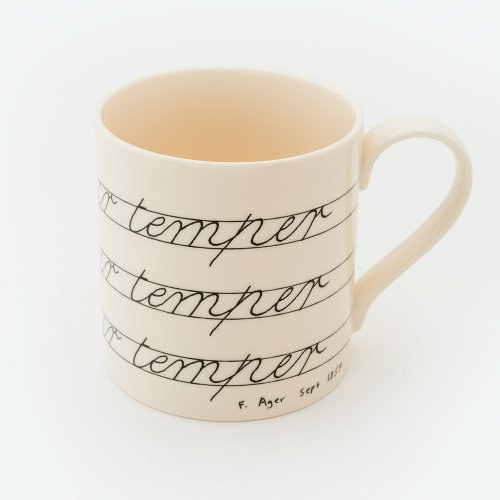 GOVERN YOUR TEMPER MUG