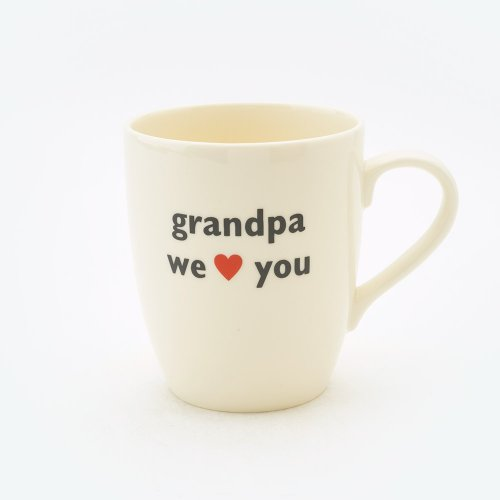 GRANDPA WE HEART YOU MUG