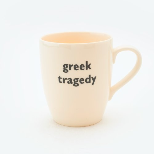 GREEK TRAGEDY MUG