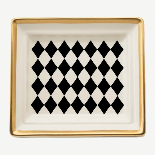 HARLEQUIN BLACK HALL TRAY