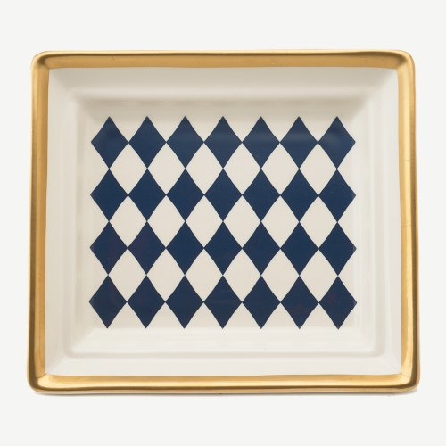 HARLEQUIN MIDNIGHT BLUE HALL TRAY