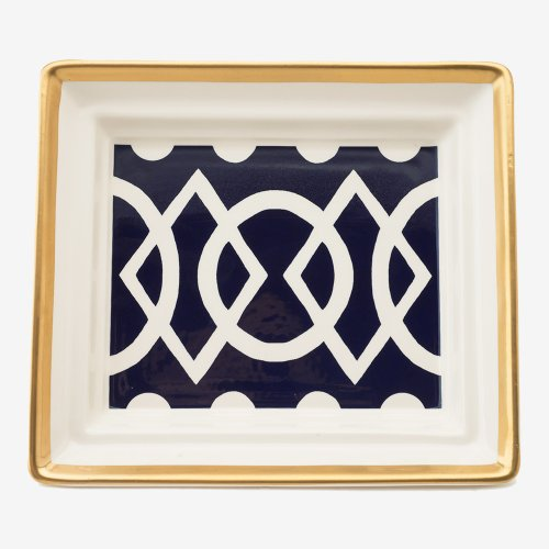 MEDIAEVAL MIDNIGHT BLUE HALL TRAY