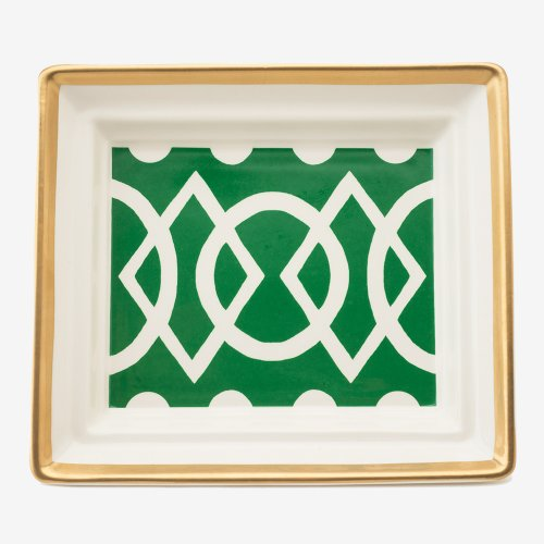 MEDIAEVAL GREEN HALL TRAY