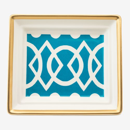 MEDIAEVAL TURQUOISE HALL TRAY