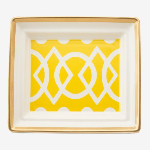 MEDIAEVAL YELLOW HALL TRAY