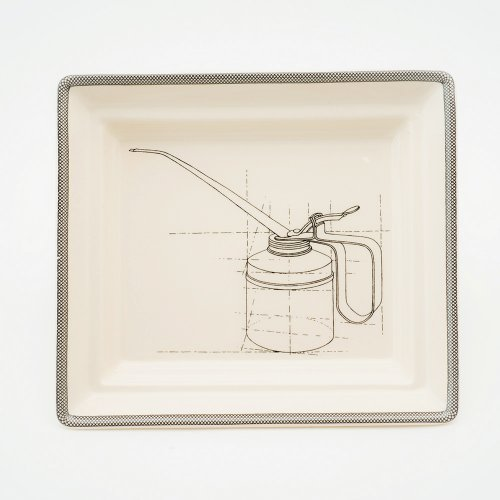 OIL CAN HALL TRAY
