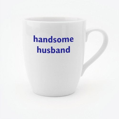 HANDSOME HUSBAND MUG