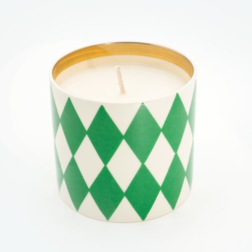 HARLEQUIN GREEN 'REQUIEM' STANDARD CANDLE