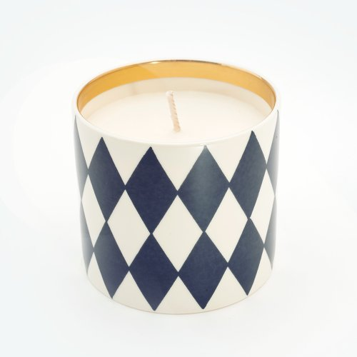 HARLEQUIN MIDNIGHT BLUE 'CARDINAL SIN' CANDLE