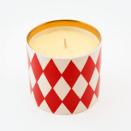 HARLEQUIN VERMILLION 'SHAME' CANDLE