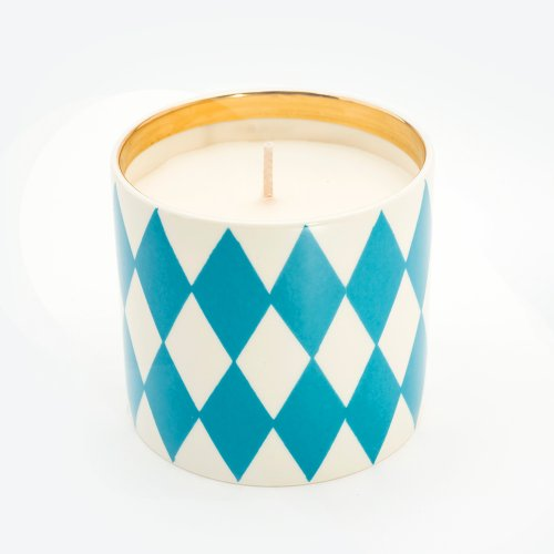 HARLEQUIN TURQUOISE 'BESOTTED' CANDLE