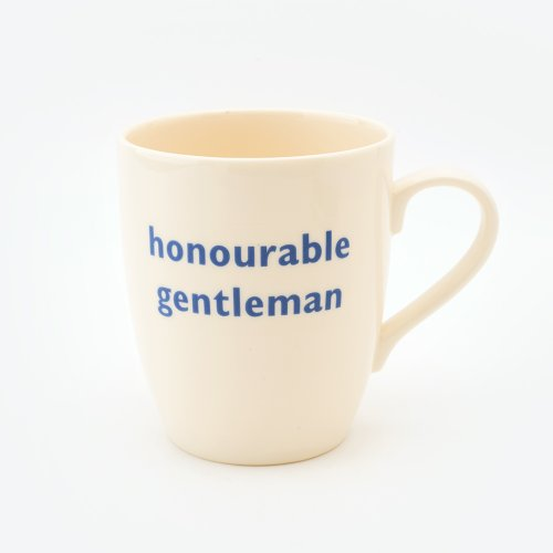 HONOURABLE GENTLEMAN MUG