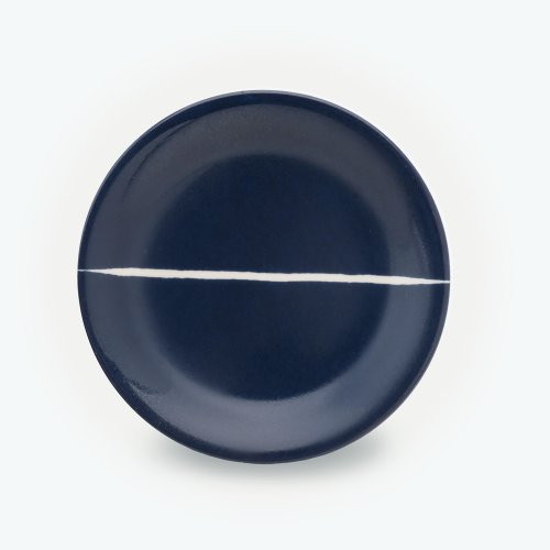 MIDNIGHT BLUE SEMI CIRCLE PLATE