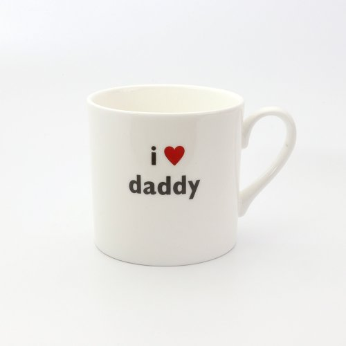 I HEART DADDY CHILDS MUG