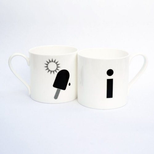 I IS FOR ICE LOLLY MUG