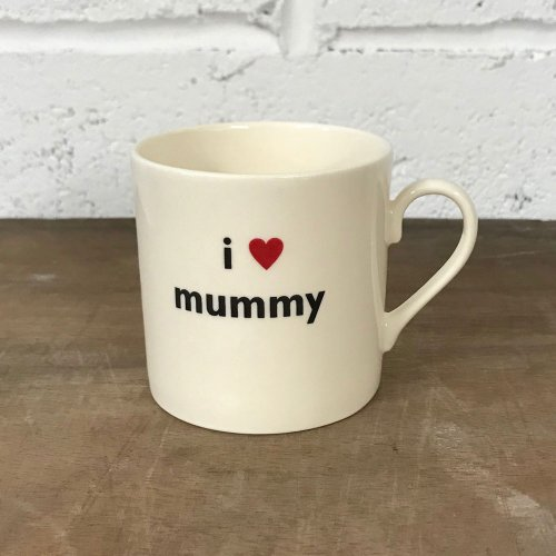 WAREHOUSE SALE! CHILD'S I LOVE MUMMY MUG