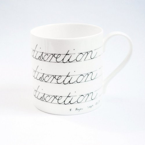 JUDGE WITH DISCRETION MUG