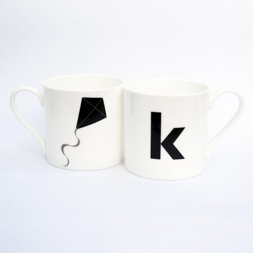 K IS FOR KITE MUG