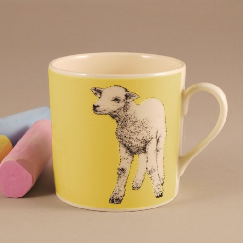 LAMB YELLOW MUG