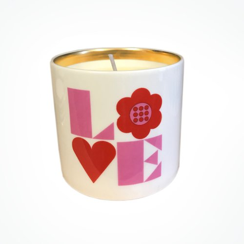 RED & PINK LOVE CANDLE