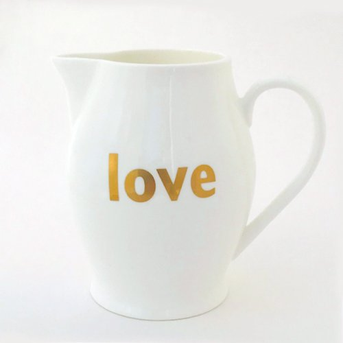 LOVE JUG - ENGLISH FINE BONE CHINA