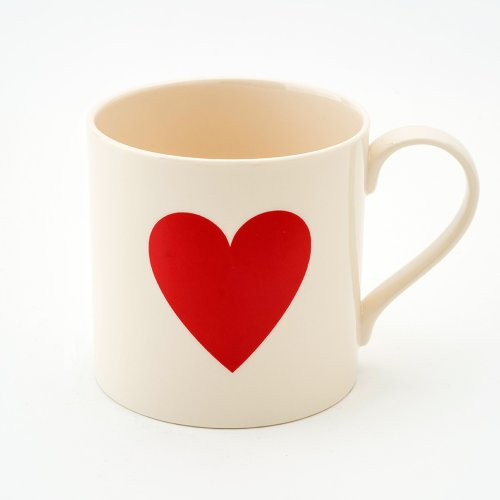 RED HEART 1/2 PINT MUG