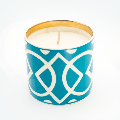 MEDIAEVAL TURQUOISE 'BESOTTED' CANDLE