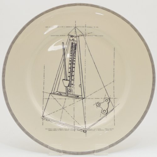 SALE! METRONOME SERVING PLATE
