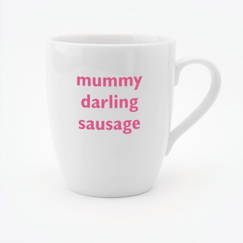 MUMMY DARLING SAUSAGE MUG