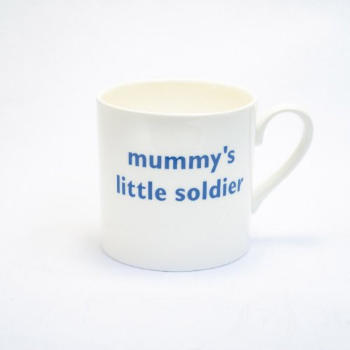 MUMMY'S LITTLE SOLDIERS CHILDS MUG