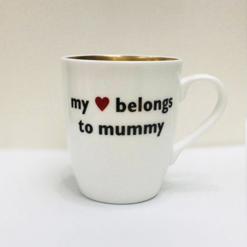 MY HEART BELONGS TO MUMMY MUG