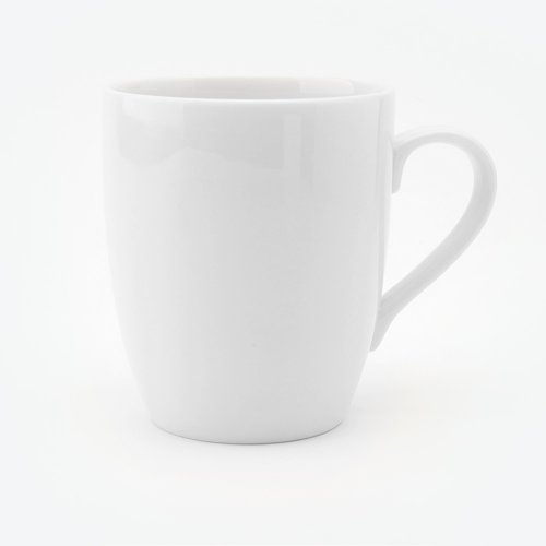 BESPOKE CLASSIC WHITE BONE CHINA MUG