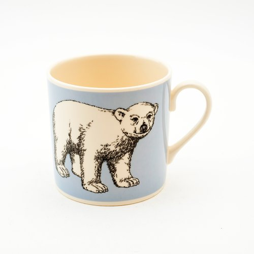 POLAR BABY BEAR BLUE MUG