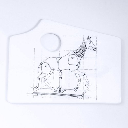ARTICULATED HORSE ARTISTS PALETTE