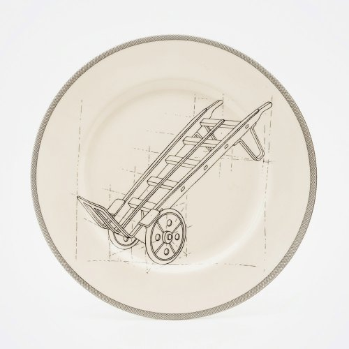 SALE! TROLLY DINNER PLATE