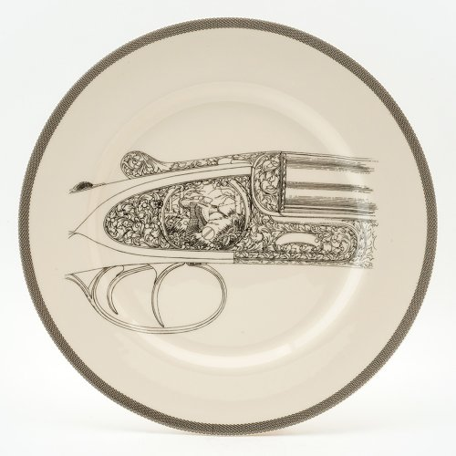 FLYING WOODCOCK SERVING PLATE