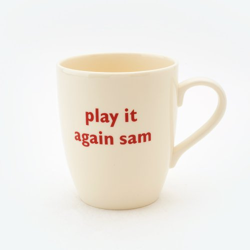 PLAY IT AGAIN SAM MUG