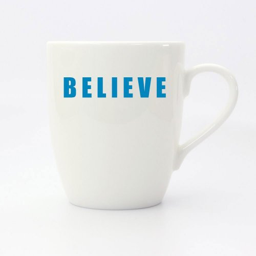 POSITIVELY 2021 BELIEVE MUG