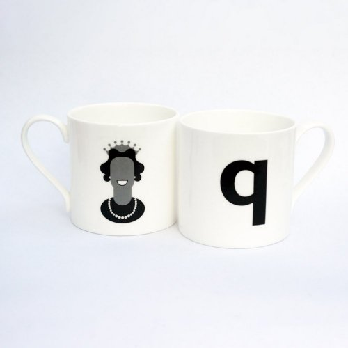 Q IS FOR QUEEN MUG