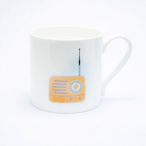 PLATINUM & GOLD RADIO MUG
