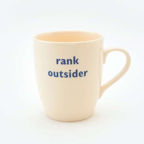 RANK OUTSIDER MUG